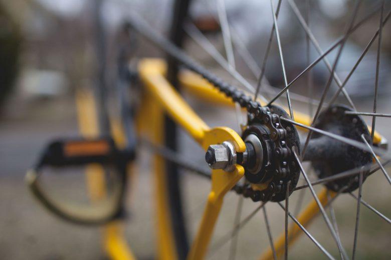 Rad eines Fahrrads