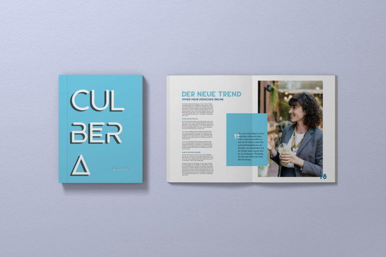 Magazin mit Scribus
