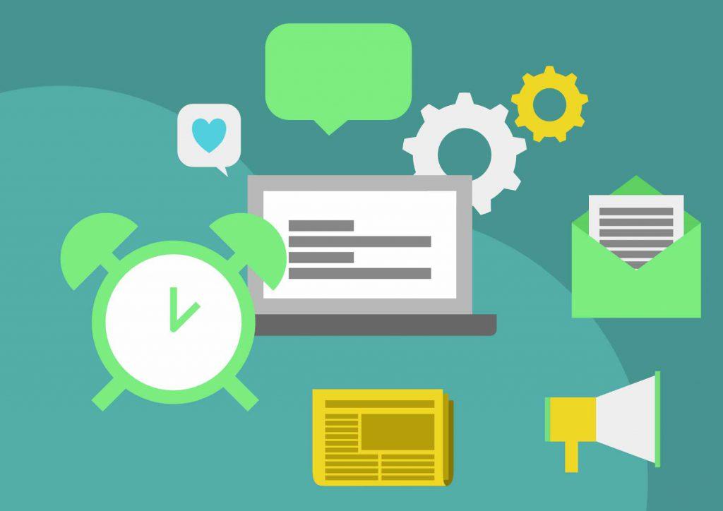Content-Kreation und Marketing mit wenig Zeit