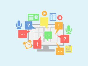 """Online-Veranstaltungen <span class=""""amp"""">&</span> Videokonferenzen moderieren und organisieren"""
